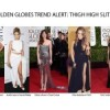 Red Carpet Trend Alert: Thigh High Slits