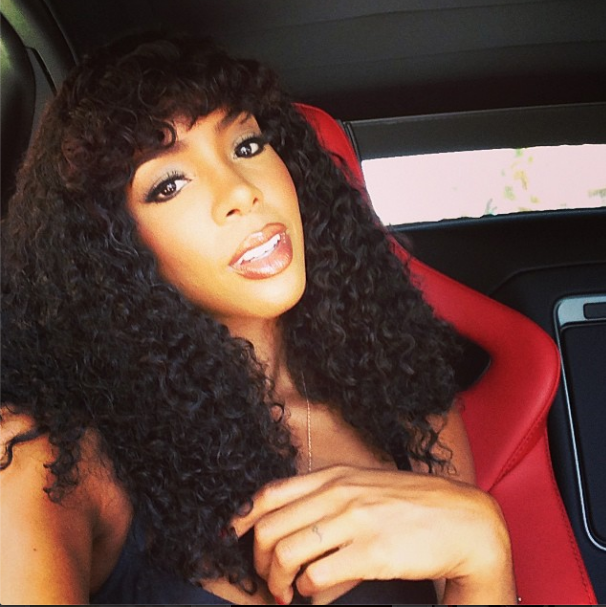 Kelly Rowland Nails Her Donna Summer Look! - Mane Majesty : Mane Majesty